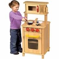 Kids Compact Play Kitchen Center - Kitchenette