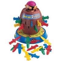 Pop-Up Pirate 5-inch Barrel Kids Game