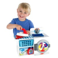 Pretend Washer Dryer Combo Cardboard Set