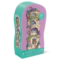 Princess Castle 36 pc Floor Tower Puzzle in Shaped Box