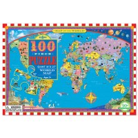 World Map 100 pc Jigsaw Puzzle