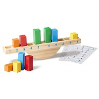 Rainbow Balance See-Saw Rocking Sorter
