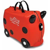 Ruby Red Trunki Ride-On Suitcase