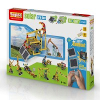 Engino Solar Pro Duo 20 Models Deluxe Building Set