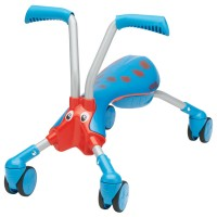Toddler Folding 4 Wheel Bike - Blue & Red Scramble Bug