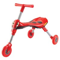 Toddler Folding Tricycle - Scuttlebug Ladybug