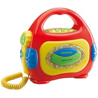 Sing Along CD Player - Red
