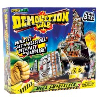 Demolition Lab for Kids - Mega Smokestack