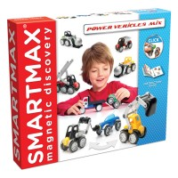 Smartmax Power Vehicles Max Magnetic Building Set