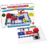 Snap Circuits Jr. Build 100 Electronic Projects Kit