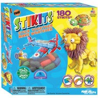 STIKITS 180 pc Stick Together Craft Kit