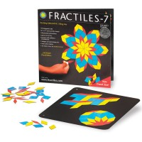Travel Fractiles-7 Magnetic Mosaic Tiles Toy