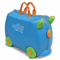 Trunki Blue Terrance Kids Ride-On Suitcase