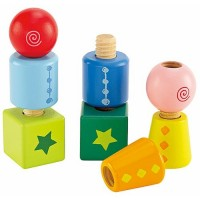 Twist-and-Turnables Stacking Toy