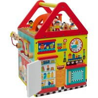 My First House Wooden Activity Center