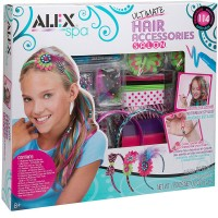 Ultimate Hair Accessories Salon Deluxe Craft Kit for Girls