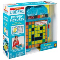 Poppin' Pictures Coding Pattern 197 pc STEM Activity Set