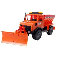 Bruder MB Winter Service Truck with Snow Plow