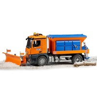 Bruder Toy MB Arocs Winter Service Truck with Snow Plow