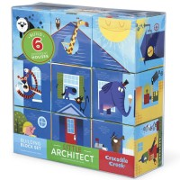 Little Architect Jumbo Building Blocks Boy Builders Set