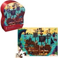 Ahoy Matey! Pirates 36 pc Puzzle in Shaped Gift Box