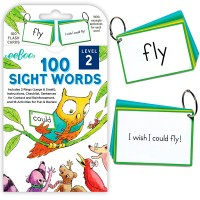 100 Sight Words Flash Cards - Level 2