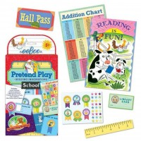 School Pretend Play Travel Set