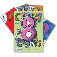Crazy Eights Kids Playing Cards Game