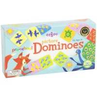 Preschool Picture Dominoes Matching Game
