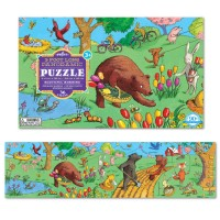 Beautiful Morning 36 pc Floor Panoramic Puzzle
