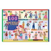 Children of the World Alphabet 100 pc Puzzle