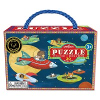 Up & Away Spaceships 20 pc Jigsaw Puzzle