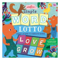 Simple Word Lotto Word Building Game