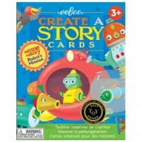 Robot's Mission Tell Me a Story Cards Set