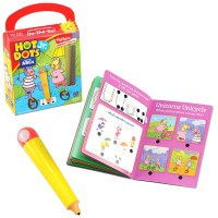 Learn My ABCs Hot Dots Jr. with Highlights On the Go Set