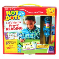 Hot Dots Jr. Let's Master Pre-K Reading 2 Books & Dog Pen Interactive Set