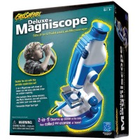 GeoSafari Deluxe Magniscope - Kids Microscope and Telescope