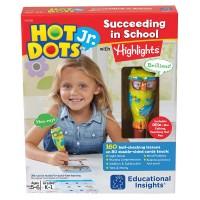 Hot Dots Jr. Succeeding in School with Hightlights 160 Interactive Lessons & Owl Pen Set