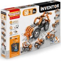 Engino Inventor 50 Models Motorized Building Kit