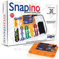Snap Circuits Snapino Coding Electronic Projects Kit