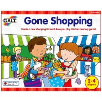 Gone Shopping Preschool Memory Game