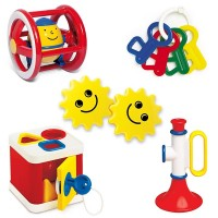 Baby 5 Toys Gift Set