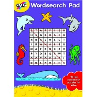 Word Search 40 Pages Activity Book