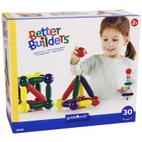 Better Builders Toddler Magnetic 30 pc Building Set