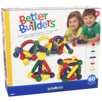 Better Builders Toddler Magnetic 60 pc Building Set
