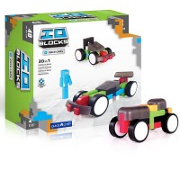 IO Blocks Vehicles 48 pc Race Cars Building Set