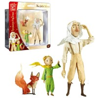 The Little Prince 3 Figurines - Pilot, Little Prince, Fox