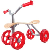 Trail Rider Toddler Push Ride-on Toy with 4 Wheels