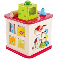 Friendship 5 Play Sides Toddler Activity Cube