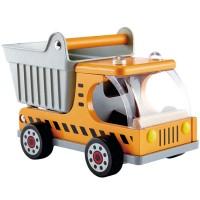 Dumper Truck Kids Wooden Toy Dump Truck